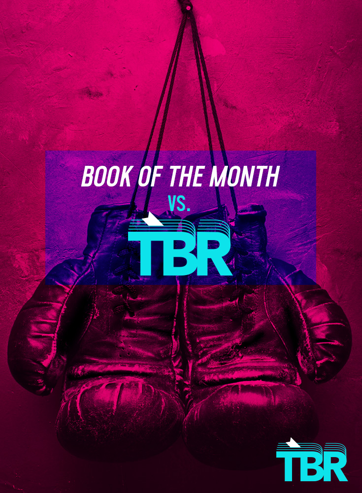book of the month vs tbr