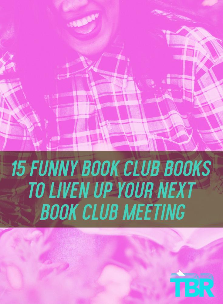 15 funny book club books
